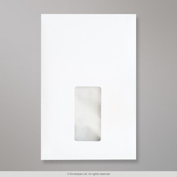 229x162x25 mm c5 enveloppe blanche fen tre avec for Enveloppe a fenetre