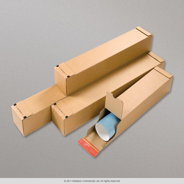 108x610x108 mm tube postal carr en carton cp07204 enveloppes france. Black Bedroom Furniture Sets. Home Design Ideas