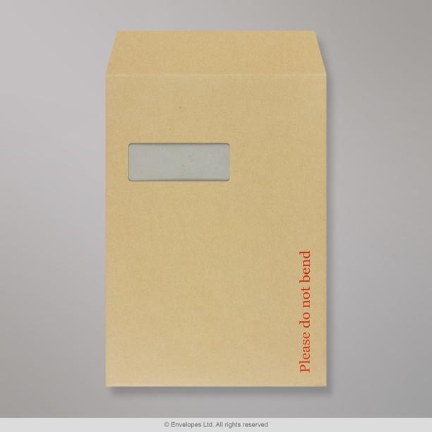 324x229 mm c4 enveloppe dos cartonn manille avec for Enveloppe c4 avec fenetre
