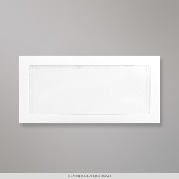 110x220 mm dl full view window envelope fvdl for Window envelopes