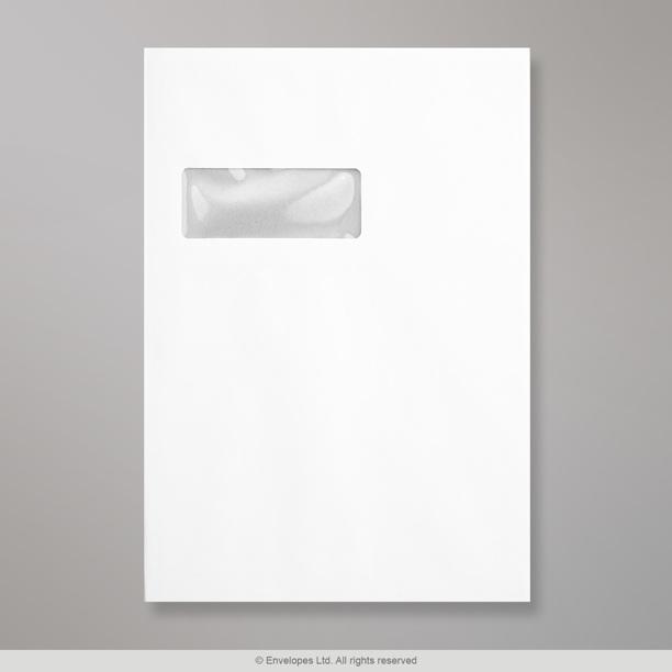 324x229 mm c4 enveloppe blanche dos cartonn et fen tre for Enveloppe c4 avec fenetre