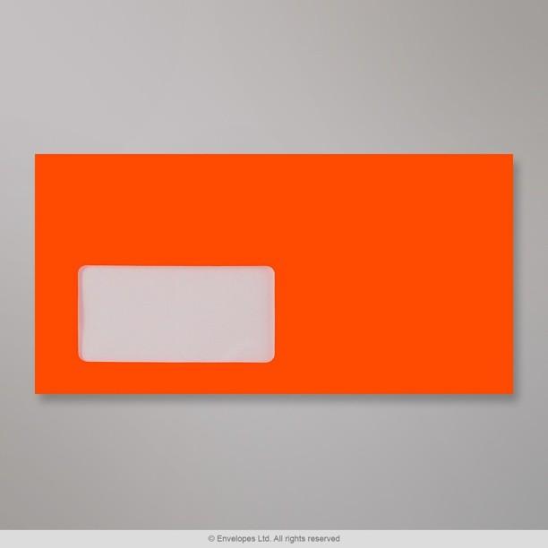 110x220 mm dl enveloppe rouge n on avec fen tre for Enveloppe c4 avec fenetre