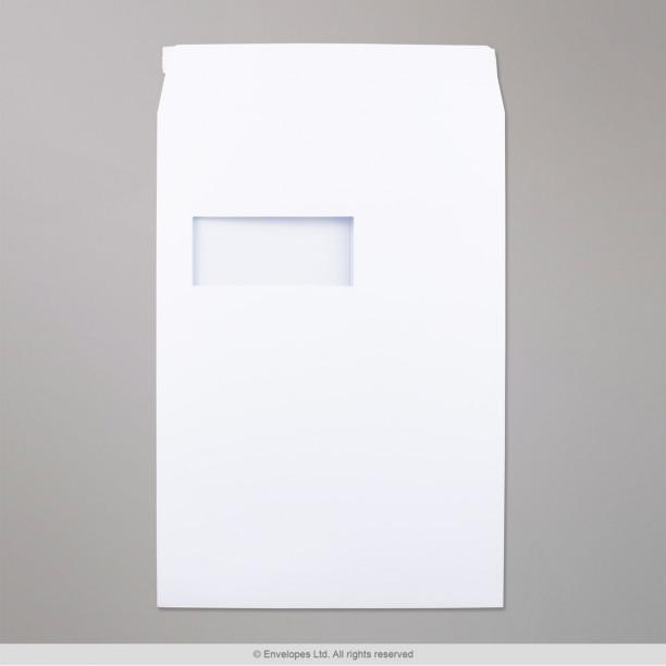 324x229 mm c4 enveloppe post marque blanche avec fen tre for Enveloppe avec fenetre