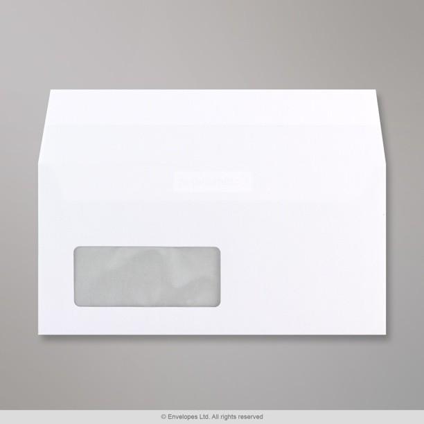 110x220 mm dl enveloppe blanche conqueror communique for Enveloppe a fenetre