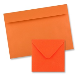 Clariana Orange Envelopes
