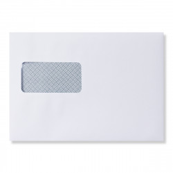 162x229 mm (C5) White laser guaranteed envelope