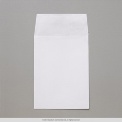 102x76 mm White Envelope