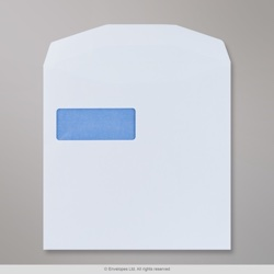 220x220 mm White Envelope