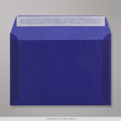 162x229 mm (C5) Dark Blue Translucent Envelope