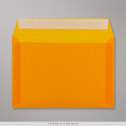 162x229 mm (C5) Orange Translucent Envelope