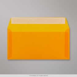 110x220 mm (DL) Orange Translucent Envelope