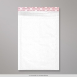 265x180 mm White Kraft Padded Bag