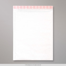 360x270 mm White Kraft Padded Bag