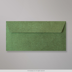 110x220 mm (DL) Forest Green Textured Envelope