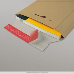 245x170x30 mm Solid Manilla All Card Mailer