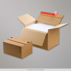 310 x 238 x 80-170 mm Manilla Folding Carton Boxes