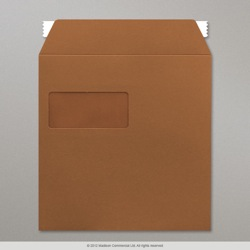 220x220 mm Brown Post Marque Envelope