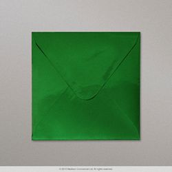 130x130 mm Green Mirror Finish Envelope
