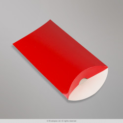 124x114 mm Red Pillow Box