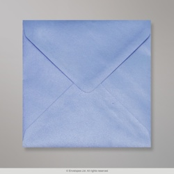 130x130 mm Pearl Blue envelope