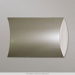 405x324 mm Silver Pillow Box