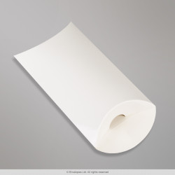 113x81+35 mm White Pillow Box