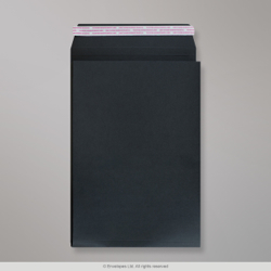 229x162x25 mm (C5) Black Gusset Post Marque envelope