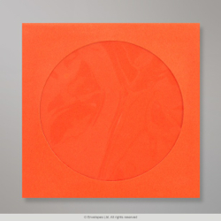 85x85 mm Oranje cd-envelop