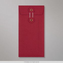 220x110 mm (DL) String & Washer Red Envelope