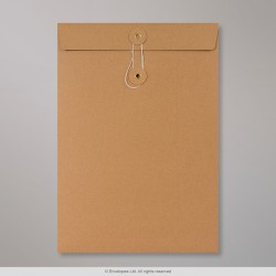 229x162 mm (C5) String & Washer Manilla Envelope