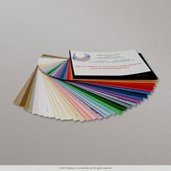 Coloured Paper Envelopes - swatch