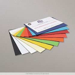 Coloured V Flap  Envelopes - swatch