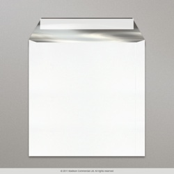 184x184 mm Ultra White + Silver Foil Lined Envelopes