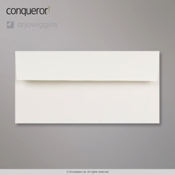 110x220 mm (DL) Busta Conqueror bianchissima