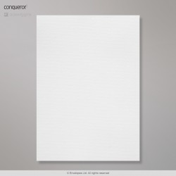 297x210 mm (A4) Conqueror Diamond White Laid Paper