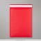 250x180mm Red Coloured Kraft Bubble Bag