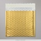 165x165 mm Gold Metallic Matt Bubble Bag