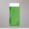 220x110 mm (DL) Green Matt Foil Bag