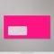 110x220 mm (DL) Neon Pink Envelope with Window