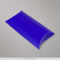 113x81+35 mm (C7) Blauwe pillowbox