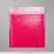 165x165 mm Pink Poly Gloss Bubble Bag