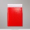 250x180 mm Red Poly Gloss Bubble Bag