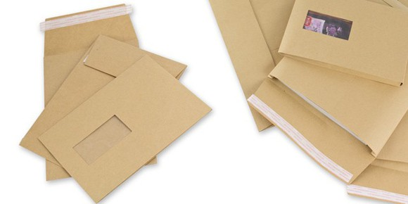 Manilla gusset envelopes