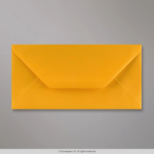 110x220 mm  dl  golden yellow envelope