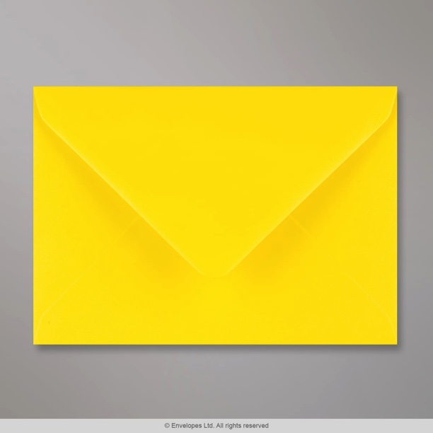 114x162 Mm C6 Daffodil Yellow Envelope Am36c6 Simply