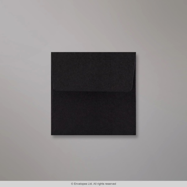 80x80 mm enveloppe noire an3780ps enveloppes france. Black Bedroom Furniture Sets. Home Design Ideas