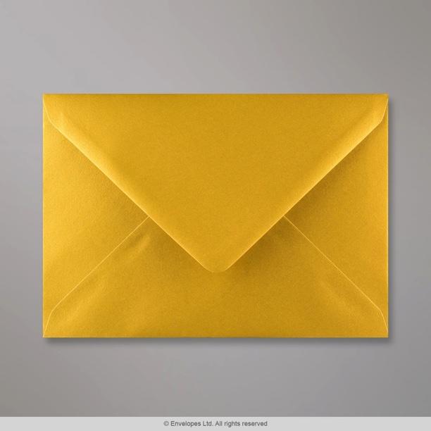 133x184 mm metallic gold envelope
