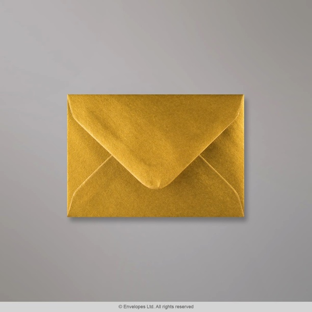 70x100 Mm Metallic Gold Envelope D0470100 Simply Envelopes