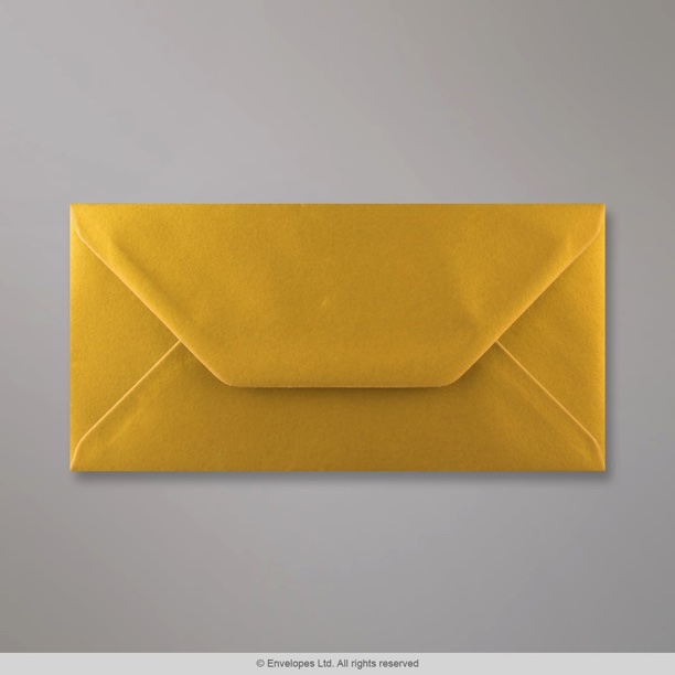 110x220 Mm Dl Metallic Gold Envelope D04dl Simply