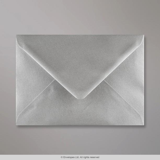 133x184 Mm Metallic Silver Envelope E05133 Simply